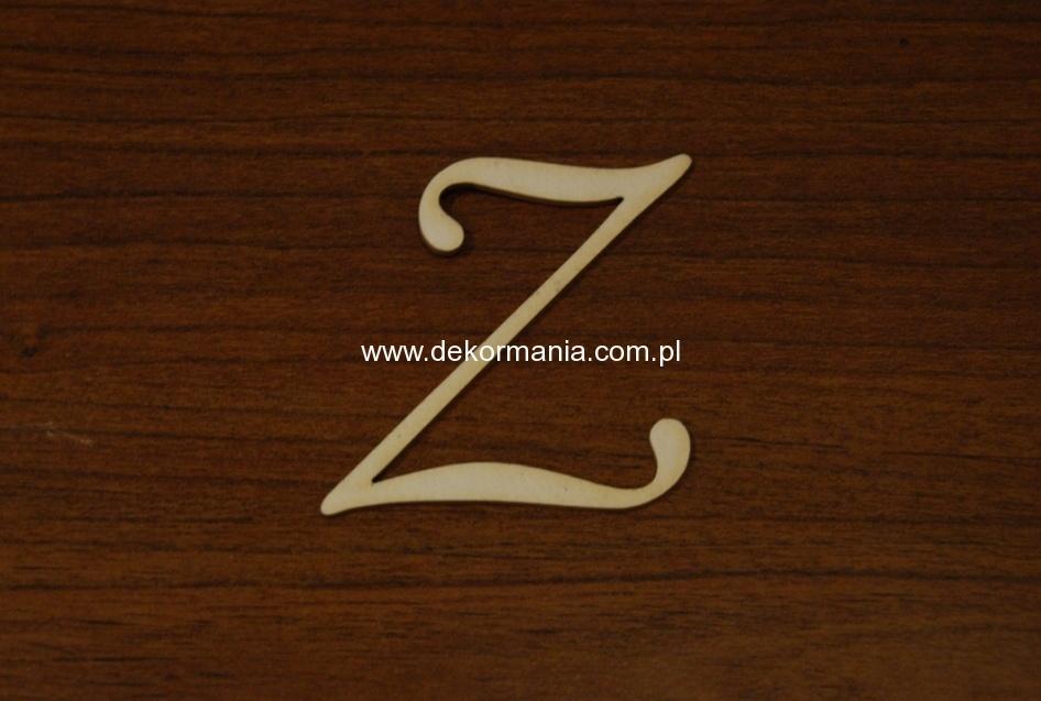 Litera Z Wys50mm B