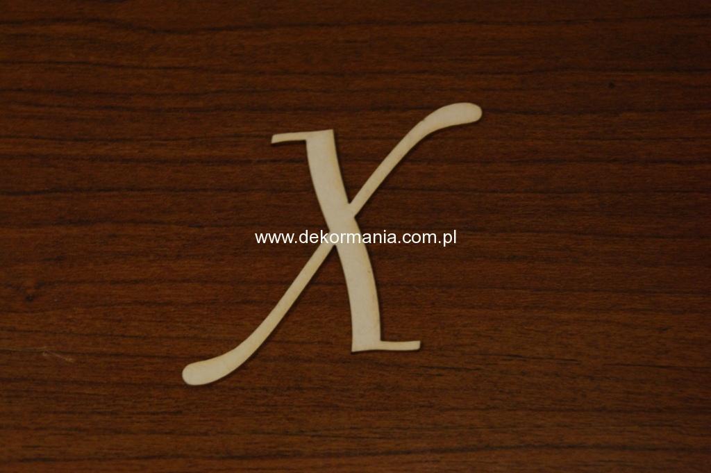 Litera X Wys50mm B